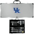 Kentucky Wildcats 8 pc Stainless Steel BBQ Set w/Metal Case